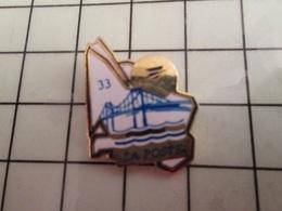 115d Pin's Pins / Rare & Belle Qualité !!! THEME POSTES / LA POSTE DEPARTEMENT 33 GIRONDE - Postes