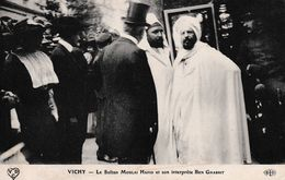 VICHY LE SULTAN MOULAI HAFID ET SON INTERPREDE BEN GHABRIT REF 66566 - Events