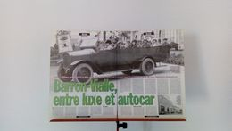 Coupure De Presse Autocars Et Camions Barron-Vialle - Trucks