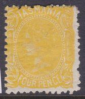Tasmania 1876 P.11.5 SG 147 Mint Hinged - Neufs