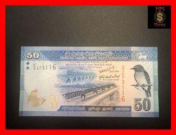 Ceylon - Sri Lanka  50 Rupees 1.1.2010  P. 124 UNC - Sri Lanka
