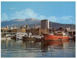 (A 9) Australia - TAS - Hobart Victoria Dock With Ship - Port Arthur