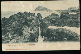 Tenerife Costa De Lava En Garachico Sastreria Cuatro Naciones 1902 Pionero Manques Dans Le Cliché Misses En El Cliché - Tenerife