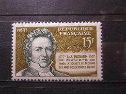 VEND BEAU TIMBRE DE FRANCE N° 1139 , POINT DANS L ' OEIL GAUCHE , XX !!! - Varietà: 1950-59 Nuovi