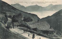 CPA - 38 - Dauphiné - Route De Grenoble Au Villars De Lans - Mer De Nuages Sur La Vallée De L'Isère - Militaires - Villard-de-Lans