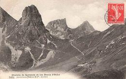 CPA - Suisse - Chalets De Lovenex Et Les Dents D'Oche - VS Valais