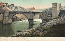 Toledo. Puente De San Martín.  Castilla- La Mancha // España - Toledo