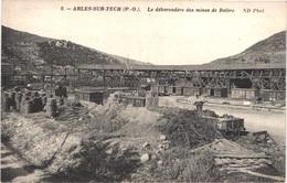 FR66 ARLES SUR TECH - Nd 9 - Le Débarcadère Des Mines De Batère - Gare Wagons - Belle - France