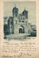 Toledo. Puerta Del Cambrón.  Castilla- La Mancha // España - Toledo
