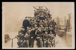 RR!  AK/CP U BOOT 1.WK WW  SM U 101 Ritter Von Georg  Helgoland  Ungel/uncirc. 1917/18   Erhaltung/Cond. 2/2-  Nr. 00172 - Guerra 1914-18