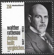 2017 Allem. Fed. Deutschland Germany Mi. 3333 **MNH 150. Geburtstag Von Walther Rathenau. - [7] Repubblica Federale