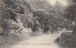 CPA - Les Loges En Josas - Route Du Château Des Côtes ( Au Verso Cachet Militaire ) - France