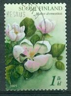 Bm Finland 2005 MiNr 1744 Used | Apple Blossom - Finland