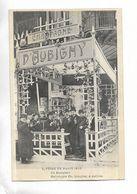75 - FOIRE DE PARIS 1906 - Un Comptoir. Stand Du Champagne D' AUBIGNY. Carte Animée - Exposiciones