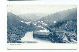 Boscastle Postcard Cornwall  The Harbour Neat  Boscastle Squared Circle 1906 - Altri