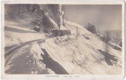 74. Pf. CHAMONIX. Col De Voza (train) - Chamonix-Mont-Blanc