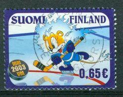 Bm Finland 2003 MiNr 1645 Used | World Ice Hockey Championships, Helsinki, Tampere And Turku - Finland