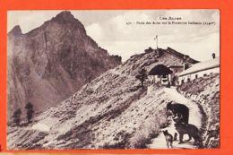 X05079 Etat Parfait NEVACHE 05-Hautes Alpes Le Poste Des ACLES Sur La Frontière Italienne 1910s FOURNIER 470 - France