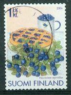 Bm Finland 2006 MiNr 1814 Used | Blueberry (Vaccinium Myrtillus) - Finland