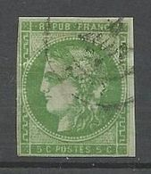 BORDEAUX N° 42B OBL / Aminci - 1870 Uitgave Van Bordeaux