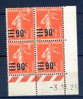 TIMBRES FRANCE REF230620...TIMBRES N° 227 COIN DATE (1925), Neuf - Dated Corners