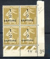 TIMBRES FRANCE REF230620...TIMBRES N° 279a COIN DATE (1935), Neuf - Dated Corners