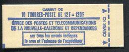 NOUVELLE CALEDONIE - CARNET N° C386 * * - MASQUE DE 1973 - LUXE - Markenheftchen