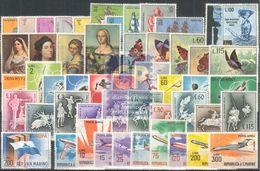 San Marino 1963 Annata Conpleta 51 V Mnh - Saint-Marin