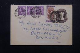 INDE - Entier Postal + Compléments De Bombay Pour Le Danemark - L 63973 - Briefe