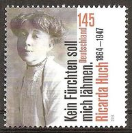 2014Germany3093150 Years Of Ricarda Hoh2,90 € - Unused Stamps