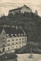 LANDSHUT, PARTIE AM DREIFALTIGKEITSPLATZ M.BLICK A.BURG TRAUSNITZ. ALEMANIA GERMANY DEUTSCHLAND - Allemagne