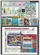 San Marino 1997 Annata Completa Mnh - Saint-Marin