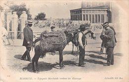 ¤¤  -   BIARRITZ    -   Espagnols Marchands Vendant Des Alcarazas  -  Anes     -  ¤¤ - Biarritz
