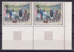N° 1457 NEUF** / VARIETE CHIEN A 8 PATTES SUR LES 2 TIMBRES COTE 60€ - Collections
