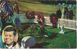 Arlington, Va - National Cemetery - John F. Kennedy - Arlington