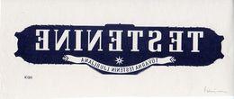 TESTENINE, TOVARNA TESTENIN LJUBLJANA, NEGATIV OSNUTEK, SLOVENIJA, Dim. 26x10.9 Cm - Advertising