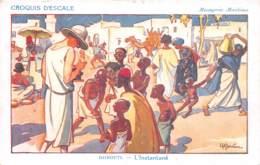 Djibouti - Croquis D'escale - Massageries Maritimes - L'Instantané - Dschibuti