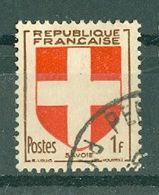 FRANCE - N° 836 Oblitéré - Armoiries De Provinces (IV). Savoie. - 1941-66 Escudos Y Blasones
