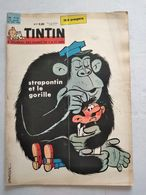 TINTIN N° 712 LES IMAGES D'EPINAL (4p) + LA S.N.E.C.M.A COVER BERCK  SANS LE POINT TINTIN A LA PAGE 3 - Tintin