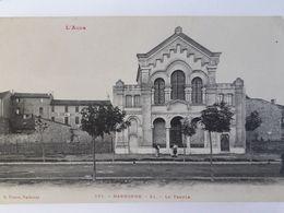 Carte Postale De Narbonne, Animé, Le Temple,« 9 » - Narbonne