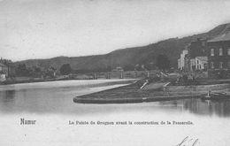 Namur.La Pointe Du Grognon Avant La Construction De La Passerelle.  NELS N° 26     Scan - Namur
