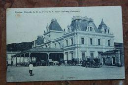 BRESIL - ESTACAO DE E. DE FERRO DA S. PAULO RAILWAY COMPANY - São Paulo