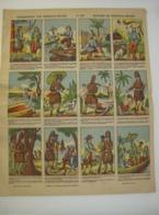Chromo Prent Image - Geschiedenis Van Robinson Crusoe - Histoire - Druk Brepols Turnhout - Sin Clasificación