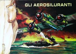 GLI AEROSILURANTI  (Guerre 1939-1945) - Designer Aldo Brovarone (Pinifarina Designo)  - Tirage 1000 Ex. - Andere Kriege