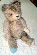 Alter Teddybär, Größe Ca. 47 Cm, Etwa 1950 - Osos