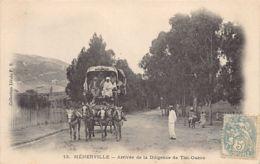 MENERVILLE Thenia - Arrivée De La Diligence De Tizi-Ouzou - Other Cities