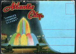 D7567 - Atlantic City - New Jersey - Leporello - Atlantic City
