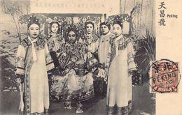 China - BEIJING - Empress Dowager Cixi - Publ. Tien Chang Ho - Chine