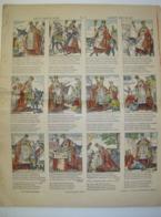 Chromo Prent Image - Saint Nicolas - Sint Nikolaas , Sint Niklaas , Sinterklaas - Druk Brepols Turnhout - Vieux Papiers