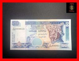 Ceylon - Sri Lanka  50 Rupees  3.7.2006  P. 110 UNC - Sri Lanka